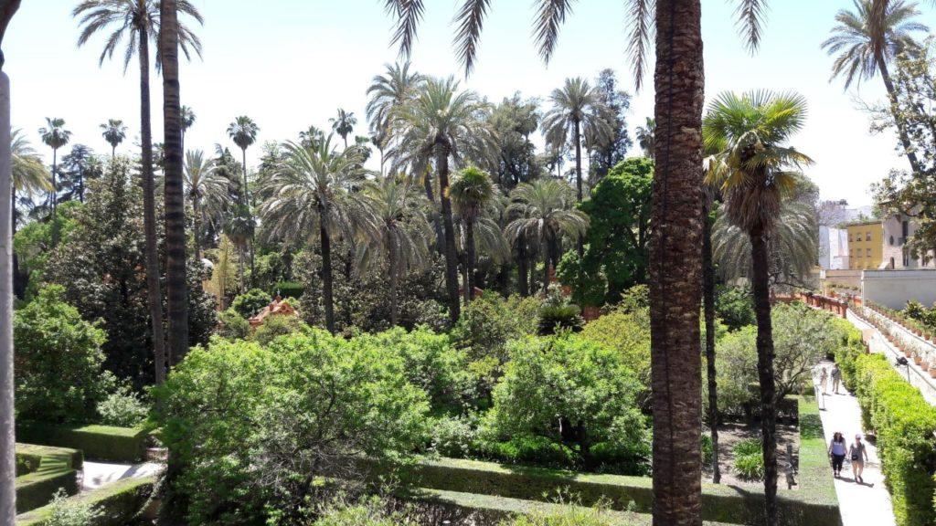 jardin séville
