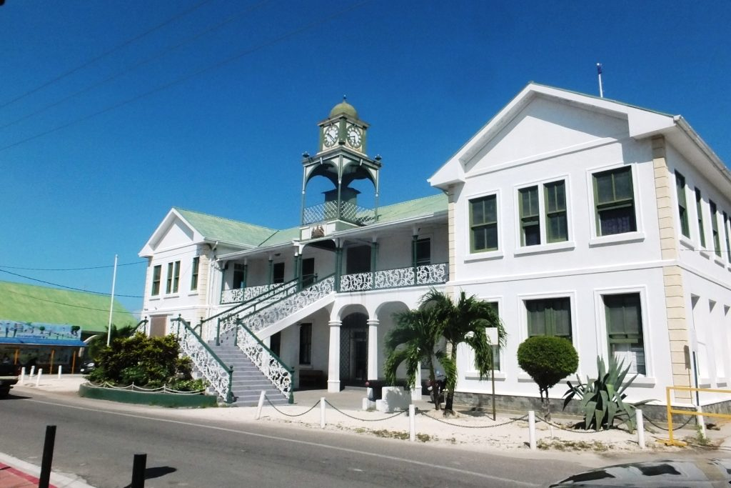 Belize palais de justice